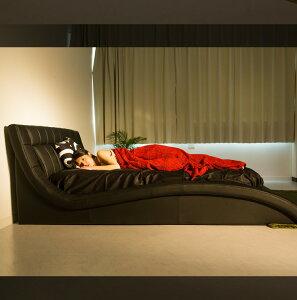 キングサイズベッド【送料無料】ポケットコイルマットレス付き高級おしゃれかわいい低反発ラテックスピロートップホテル仕様ホーリーマットレスセット白クリームアイボリーカーブカーブフレーム曲線ベッドフレーム