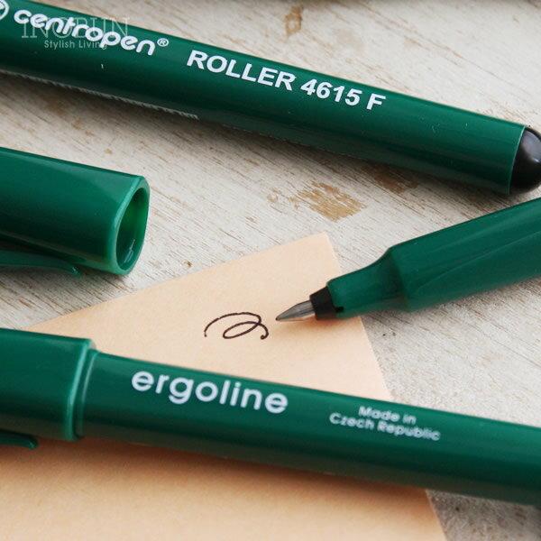 メタルローラー0.3 ペン centropen セントロペン社 チェコ ペン先 0.3mm 黒インク