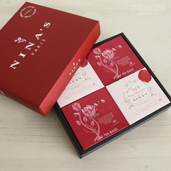 ニナス NINAS 紅茶 ティーバックセット 4箱入
