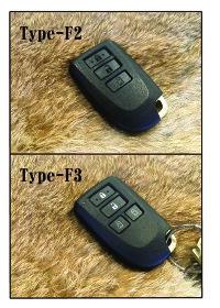 TOYOTA キーケース スマートキーケース Type-F1.2.3 ポルテ ハイエース スペイド トヨタ ギフト プレゼント【追加可能オプション】名入れ ロゴ入れ