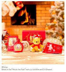 """サンタ帽とマフラーをつけた、""""くまのプーさん""""ギフトセット【ハウスオブローゼ】クラシック ..."""