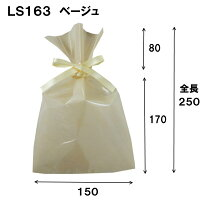 ラッピング袋透明1セット100枚(ラッピング袋ラッピング用品ラッピング袋透明リボン可愛いかわいい小プレゼントラッピングリボンバレンタイン包装小分け袋プレゼント用不織布ソフトバッククリア巾着袋)150W×170/250HLS163