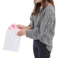 引き出物紙袋小マチ広高級マットホワイトS-181セット10枚180X70X250|ブライダルバッグラッピング結婚式引出物引き出物袋プレゼント用ペーパーバッグペーパーバック手さげ紙袋内祝いギフトバッグ白無地特大小小さい結婚式用紙袋プレゼント袋