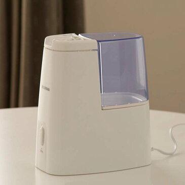 加湿器 加熱式 加熱式加湿器 1.0L SHM-120D送料無料 卓上 オフィス おしゃれ アロマ かわいい 小型 アロマ加湿器 小型 コンパクト アロマオイル 加湿 卓上加湿器 加湿機 デスク リビング 子供部屋 寝室 一人暮らし 部屋 お手入れ簡単 手入れ簡単 アイリスオーヤマ