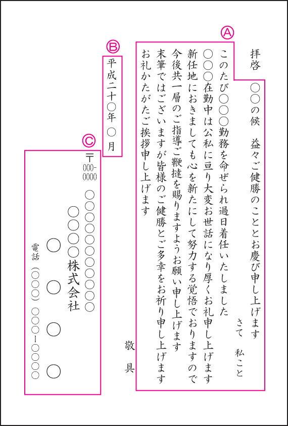 【転勤はがき】【500枚】【官製はがき】【レターパック360無料】:印刷広場
