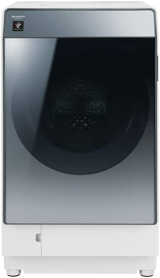 シャープ 洗濯機 ドラム式洗濯機 ハイブリッド乾燥 左開き(ヒンジ左) DDインバーター搭載 シルバー系 洗濯11kg/乾燥6kg 幅640mm 奥行728mm ES-W112-SL 送料無料(※一部地域を除く)