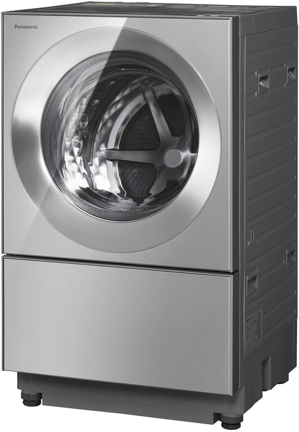 パナソニックななめドラム洗濯乾燥機Cuble(キューブル)10kg左開き液体洗剤・柔軟剤自動投入ナノイーXプレミアムステンレスNA-VG2500L-X