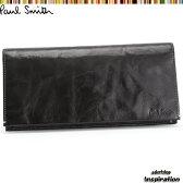 ポールスミス(Paul Smith)財布 長財布〈黒〉(psu607-10)ブラック メンズ 紳士