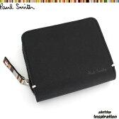 ポールスミス(Paul Smith)財布 二つ折り財布〈黒〉(psk864-10)ブラック メンズ