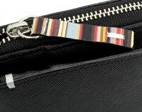 ポールスミス(PaulSmith)財布二つ折り財布〈黒〉(psk864-10)ブラックメンズ