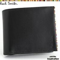 ポールスミス(PaulSmith)財布二つ折り財布〈黒〉(psu055-10)ブラックメンズ【2点以上お買上げで送料無料】[ブランドの通販]2012セール%off特価ポイント