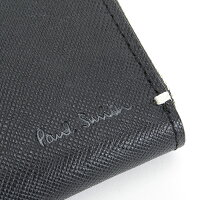 ポールスミスPaulSmith財布小銭入れコインケースパスケース付き黒psk862-10ブラックメンズ紳士