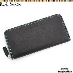 ポールスミス 財布 長財布〈黒〉(psu266-10)ブラック メンズ 紳士(P…
