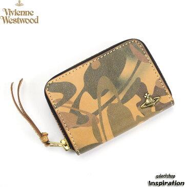 <クーポン配布中>展示品箱なし ヴィヴィアンウエストウッドマン 財布 小銭入れ コインケース Vivienne Westwood MAN 茶系 34382241 メンズ 紳士