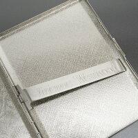 展示品箱なし特価ヴィヴィアンウエストウッドシガレットケースたばこケースタバコケース名刺入れカードケースVivienneWestwoodシルバー20140430-1
