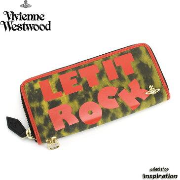 <クーポン配布中>展示品箱なし ヴィヴィアンウエストウッド 財布 長財布 ラウンドファスナー Vivienne Westwood 黄色系 3118m001 レディース 婦人