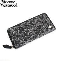 展示品箱なしヴィヴィアンウエストウッド財布長財布ラウンドファスナーVivienneWestwood黒3118m211レディース婦人
