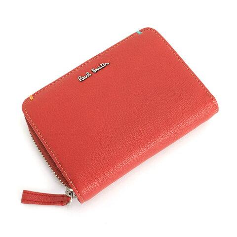 e4cf2aaa2f47 クーポン配布中>ポールスミス Paul Smith 財布 二つ折り財布 レッド psu757-20 メンズ 紳士