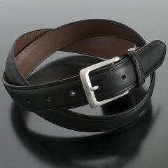 バーバリーロンドン ベルト レザーベルト〈黒〉(11038060-1)ブラック メンズ ビジネス(BURBERRY london)