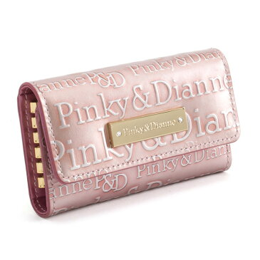 展示品箱なし ピンキー&ダイアン キーケース ピンク Pinky&Dianne pdlw3rk1-48 レディース 婦人