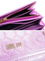 アナスイ財布長財布ピンク系ANNASUI310661-31レディース婦人