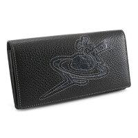 展示品箱なしヴィヴィアンウエストウッド財布長財布黒(ブラック)VivienneWestwoodACCESSORIES31383401b