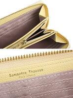 サマンサタバサ財布長財布ラウンドファスナーピンク(ベージュっぽいお色です。)SamanthaThavasaPetitChoice80304-20レディース婦人
