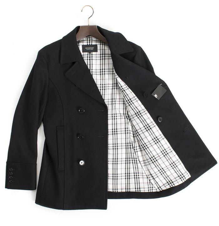 バーバリーブラックレーベル コート Pコート BURBERRY black label 黒(ブラック) bmp54728-09 メンズ 紳士