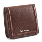ポールスミス 財布 小銭入れ コインケース ブラウン(赤色がかったブラウンです。) Paul Smith psc020-70 メンズ 紳士