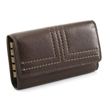 <クーポン配布中>ランバンコレクション キーケース チョコ LANVIN collection 286602 メンズ 紳士