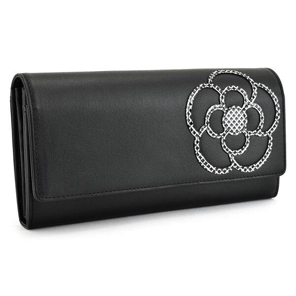 クレイサス財布長財布黒(ブラック)CLATHAS188331-10レディース婦人