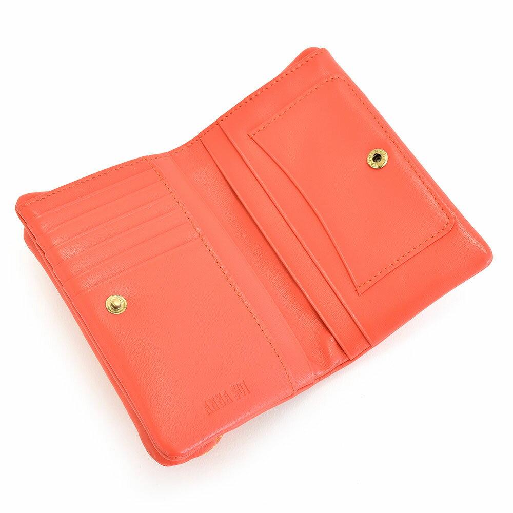 ANNASUI(アナスイ)『キッシング外口金二つ折り財布』