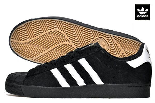 【adidas skateboarding】SUPERSTAR VULC ADV カラー:black/white B22759 【アディダス】【スケートボード】【シューズ】