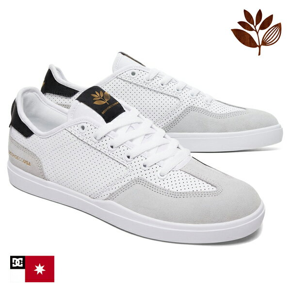 【DC Shoe × MAGENTA】VESTREY S カラー:WGY(white/grey) 【ディーシー】【マジェンタ】【スケートボード】【シューズ】