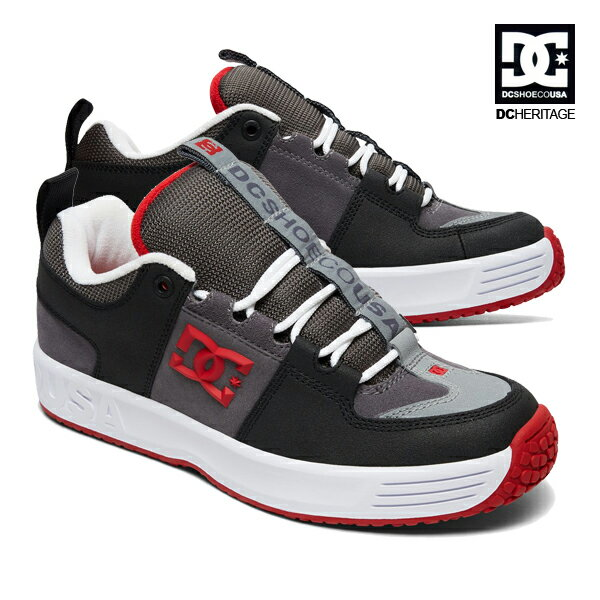 【DC Shoe】THE LYNX OG<the DC Heritage Collection>カラー:GRF 【ディーシー】【スケートボード】【シューズ】
