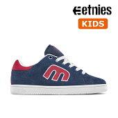 【Etnies】KIDS CALLI-CUT カラー:navy/red エトニーズ キャリカット スケートボード スケボーシューズ 靴 スニーカー 子供 SKATEBOARD SHOES