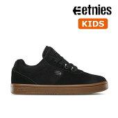 【Etnies】KIDS JOSLIN カラー:black/gum エトニーズ ジョスリン スケートボード スケボーシューズ 靴 スニーカー 子供 SKATEBOARD SHOES