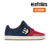 【Etnies】KIDS MARANA カラー:red/blue/white エトニーズ マラナ スケートボード スケボーシューズ 靴 スニーカー 子供 SKATEBOARD SHOES
