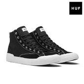 【HUF】CLASSIC HI ESS カラー:black/white 【ハフ】【スケートボード】【シューズ】【キース ハフナゲル】