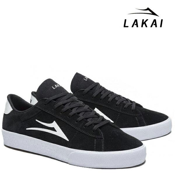 【LAKAI】NEWPORT カラー:black/white suede 【ラカイ】【スケートボード】【シューズ】