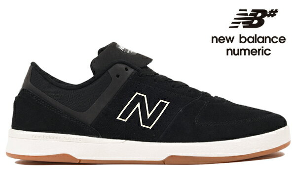 【NEW BALANCE NUMERIC】PJ LADD 533 V2NM533BC2 カラー:black with white 【ニューバランスヌメリック】【スケートボード】【シューズ】