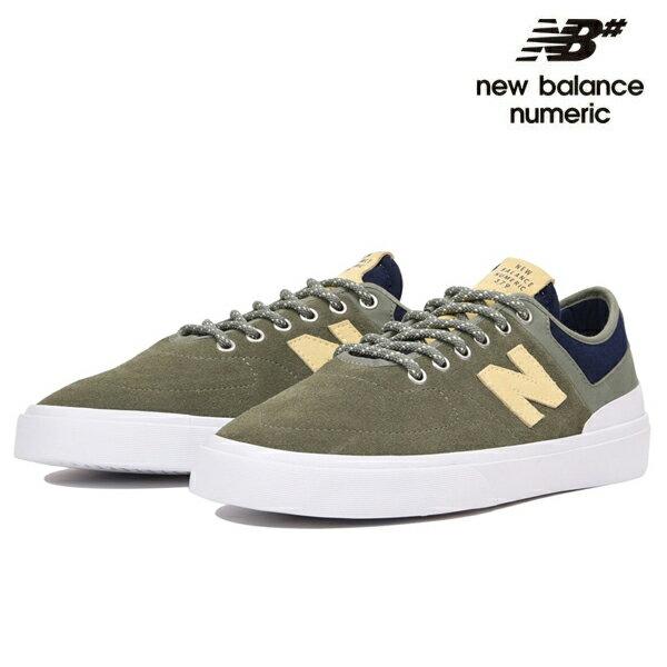 【NEW BALANCE NUMERIC】NM 379 NM379GNBカラー:olive 【ニューバランスヌメリック】【スケートボード】【シューズ】