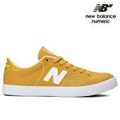 【NEW BALANCE NUMERIC】NM212YUM カラー:yellow with white ニューバランス ヌメリック スケートボード スケボーシューズ 靴 スニーカー SKATEBOARD SHOES