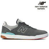 【NEW BALANCE NUMERIC】Brandn Westgate NM913GWW カラー:grey with white ニューバランス ヌメリック スケートボード スケボーシューズ 靴 スニーカー SKATEBOARD SHOES