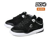 【DVS】KIDS PORTAL カラー:black/grey/black ディーブイエス キッズ 子供 スケートボード スケボーシューズ 靴 スニーカー SKATEBOARD SHOES【18cm】