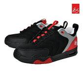 【es】TRIBO カラー:black/red エス スケートボード スケボー シューズ 靴 スニーカー SKATEBOARD SHOES【26cm/27cm】