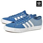 【adidas】MATCHCOURT RX カラー:blue/white アディダス スケートボード スケボー シューズ 靴 スニーカー SKATEBOARD SHOES【ラスト一足 28.5cm】