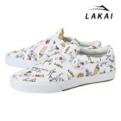 【LAKAI】OWEN POROUS WALKER カラー:white canvas ラカイ スケートボード スケボー シューズ 靴 スニーカー SKATEBOARD SHOES【ラスト一足 27cm】