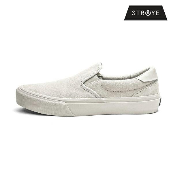 【STRAYE】VENTURA カラー:white suede 【ストレイ】【スケートボード】【シューズ】
