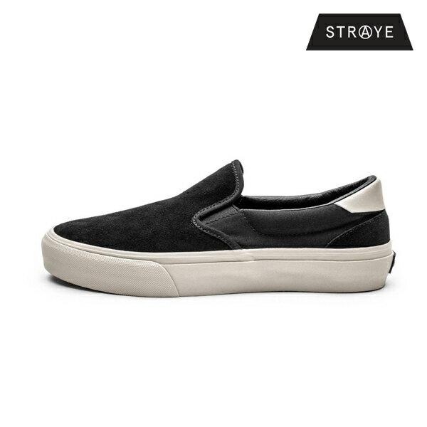 【STRAYE】VENTURA カラー:black bone suede 【ストレイ】【スケートボード】【シューズ】
